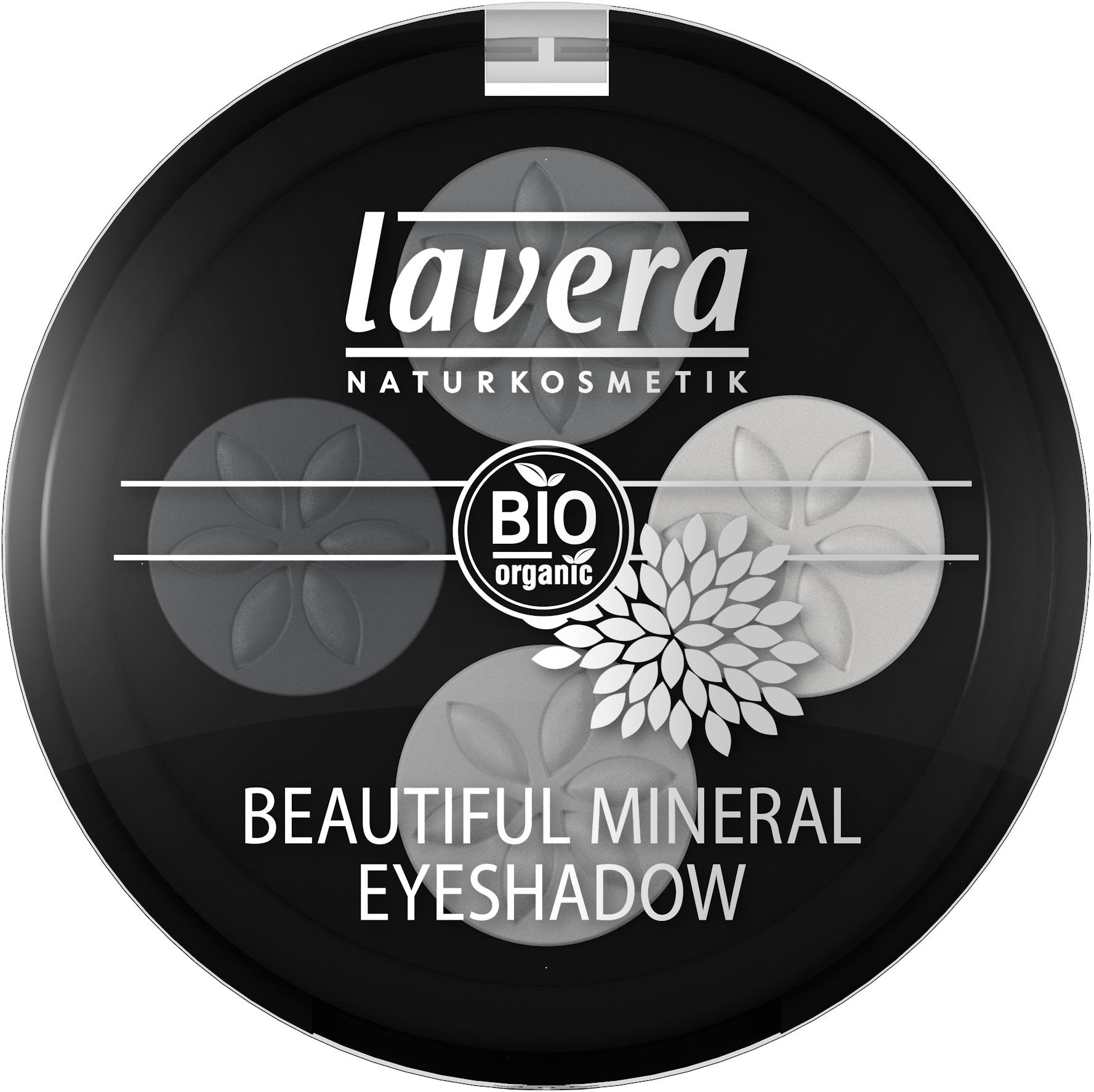 Beautiful Mineral Eyeshadow Quattro -Smoky Grey 01-