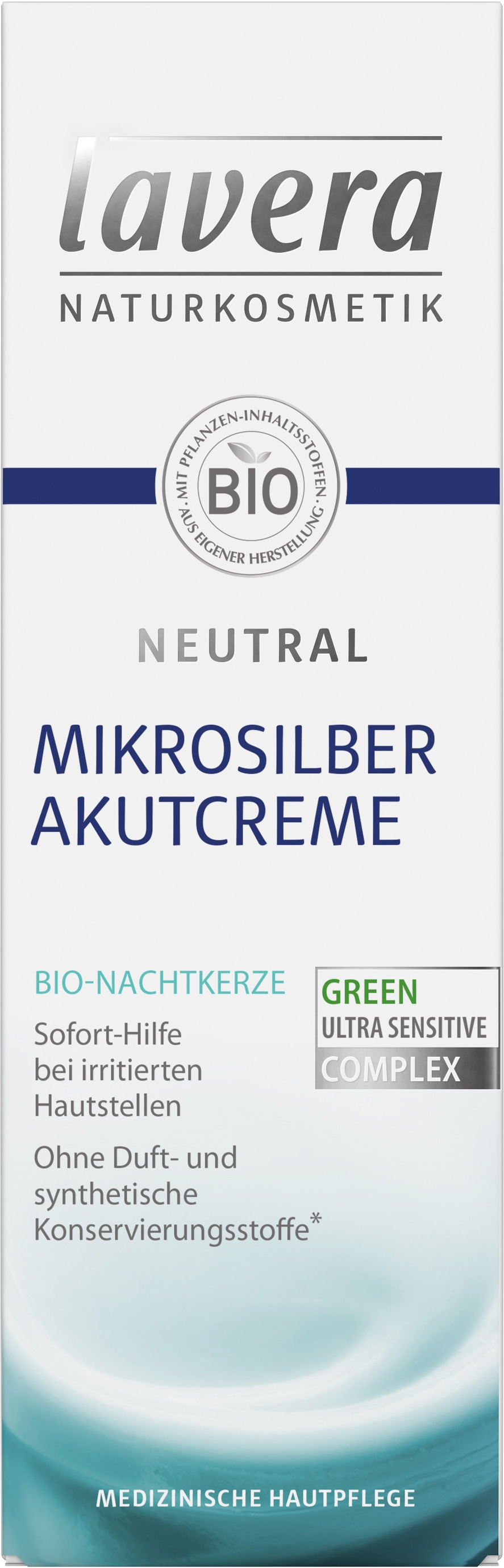 Neutral Mikrosilber Akutcreme