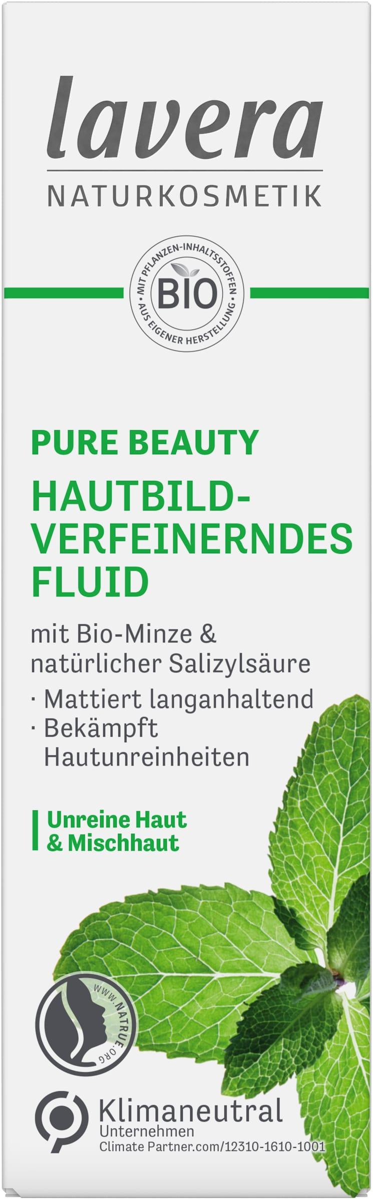 PURE BEAUTY Hautbildverfeinerndes Fluid