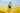 Frau im Rapsfeld streckt die Haende in die hoehe. Zu sehen ist nur die Rückseite. Strahlend blauer Himmel