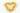 Herz geformt aus gelben Calendula Blueten auf weißem Hintergrund