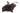 Zahlreiche kleine Acaibeeren am Strauch auf weißem Hintergrund-Nahaufnahme