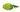 Gruenes Matcha Tee Pulver mit gruenen Blaettern auf weißem Untergrund