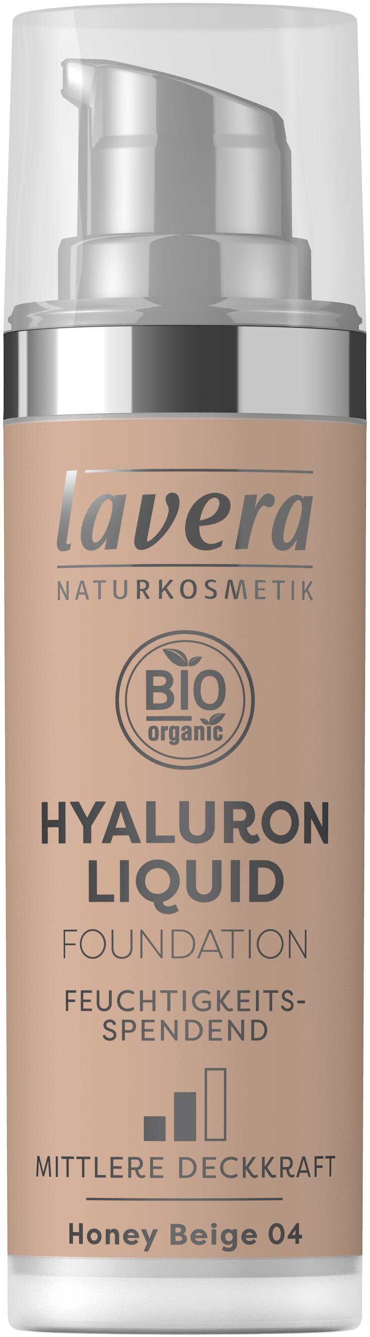 Hyaluron Liquid Foundation -Honey Beige 04-