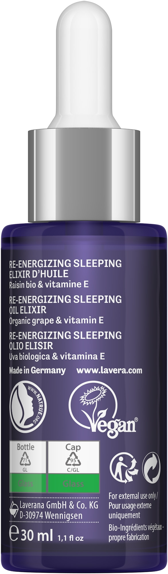 Re-Energizing Sleeping Öl-Elixier