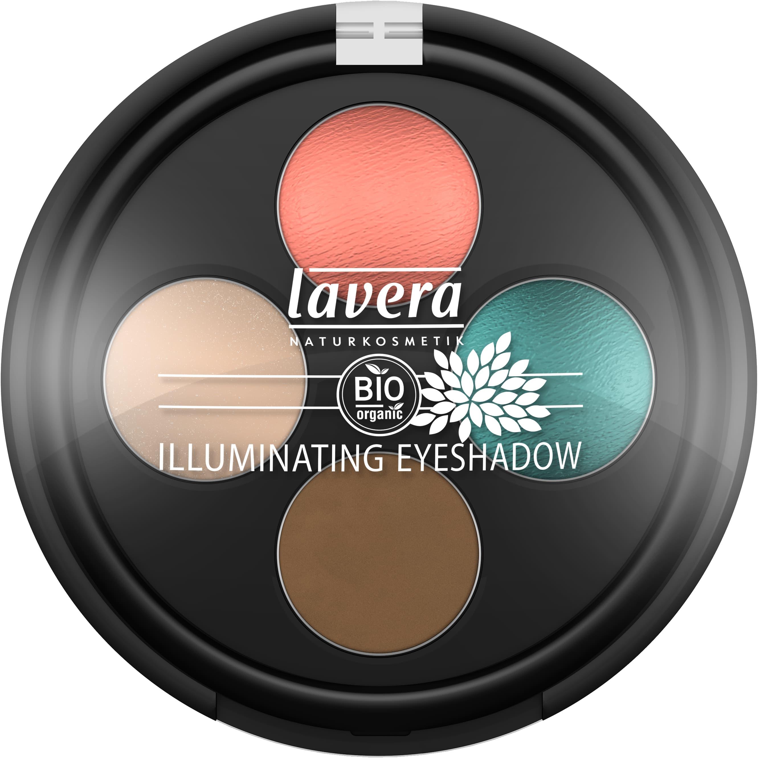 Illuminating Eyeshadow Quattro -Coral Touch 05-