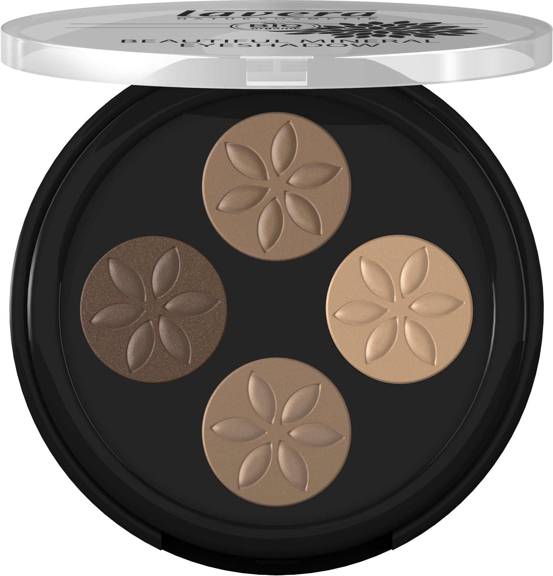 Beautiful Mineral Eyeshadow Quattro -Cappuccino Cream 02-