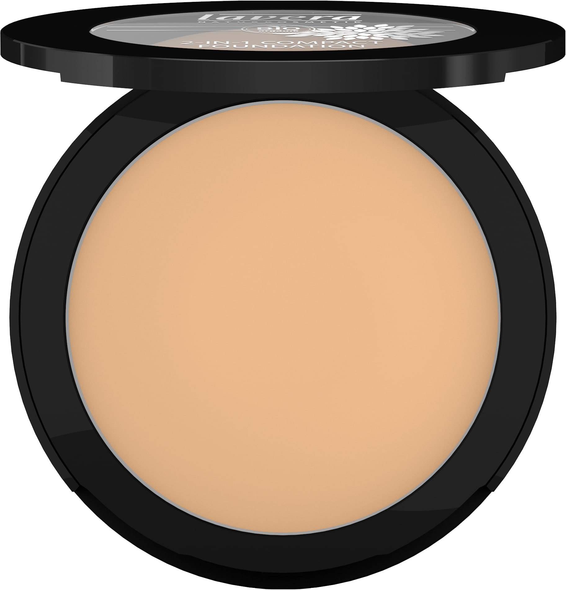 2-in-1 Compact Foundation -Honey 03-
