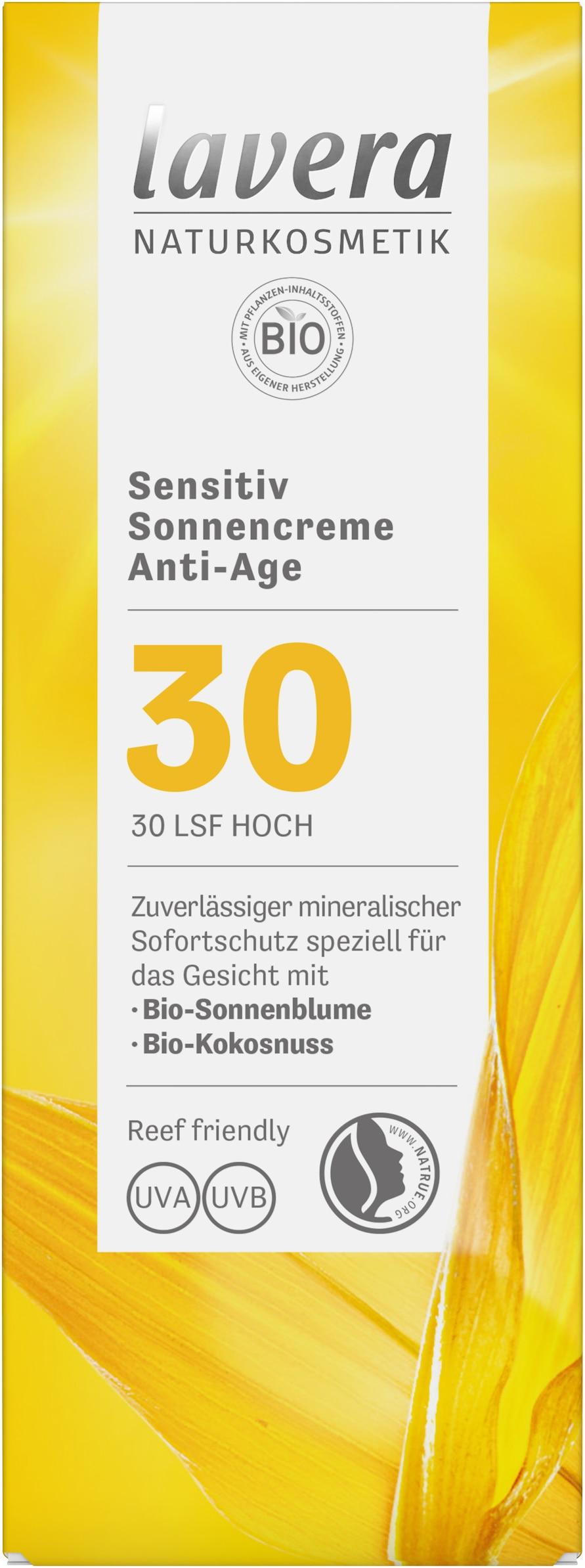 Sensitiv Sonnencreme Anti-Age  LSF 30