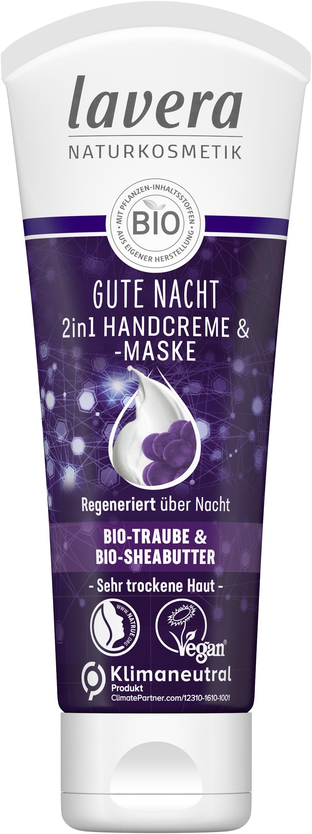 Gute Nacht 2in1 Handcreme & -maske
