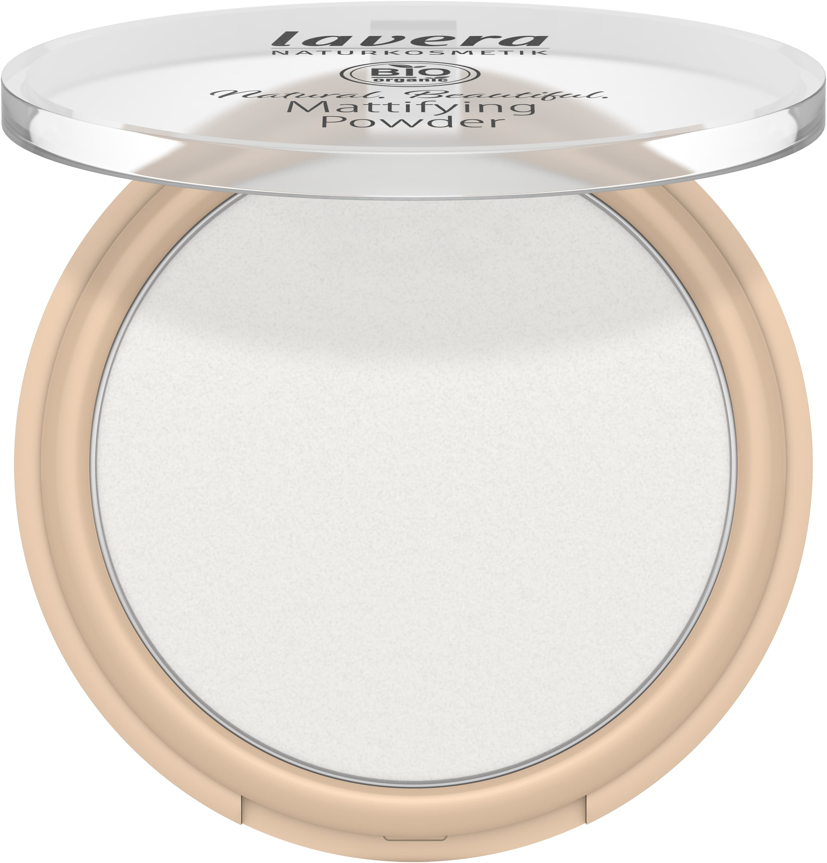 Natural. Beautiful. Mattifying Powder -Transparent-