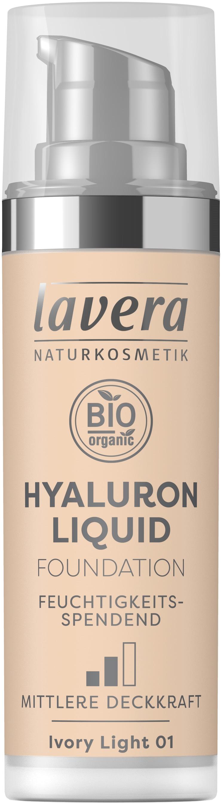 Hyaluron Liquid Foundation -Ivory Light 01-