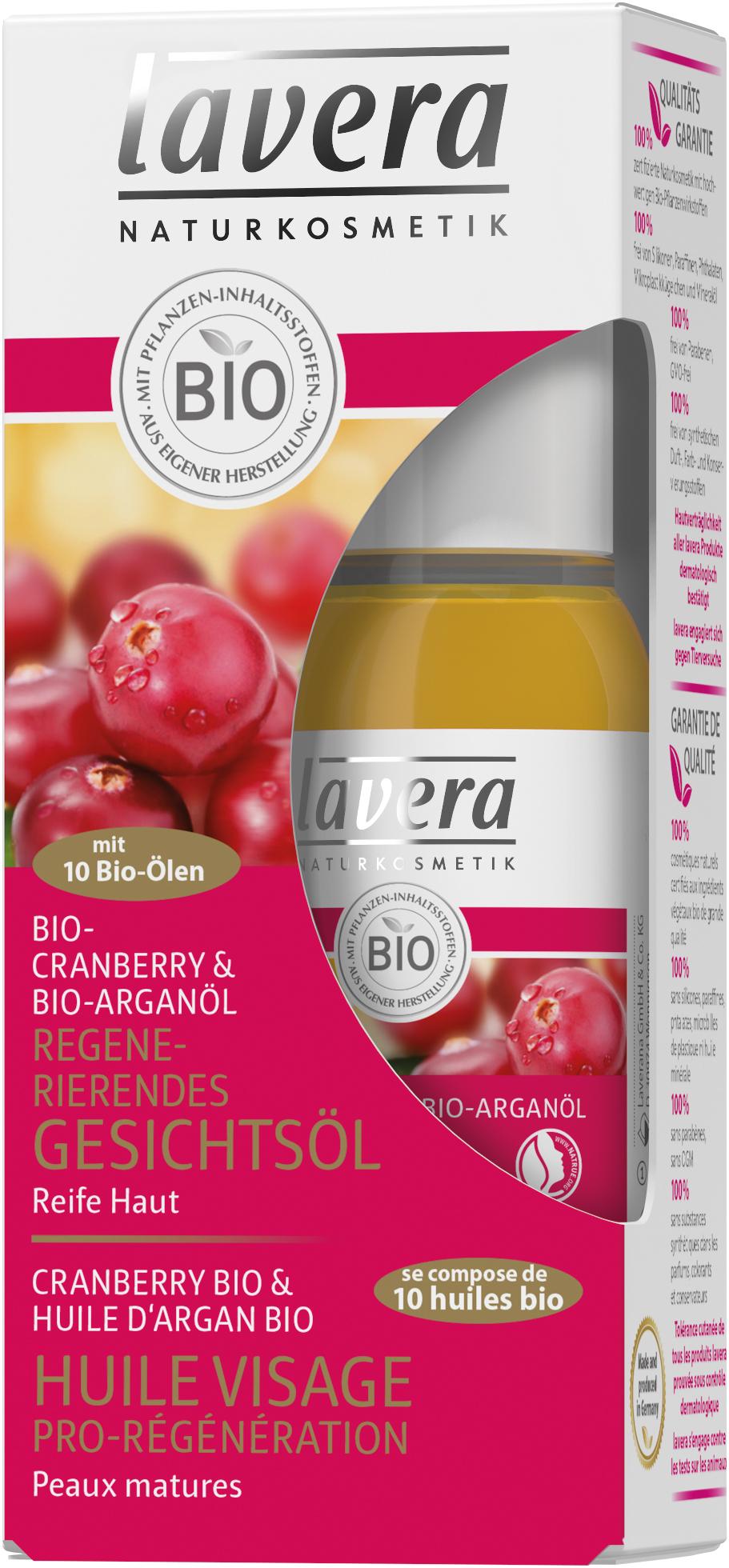 Regenerierendes Gesichtsöl Cranberry